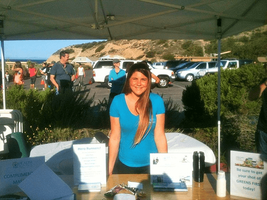 Chiropractic Laguna Beach CA Event Booth