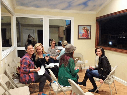 Chiropractic Laguna Beach CA Fun At Beauty Night