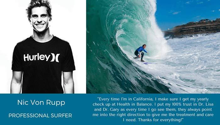 Chiropractic Laguna Beach CA Nic Von Rupp Ambassador